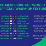 ICC Cricket World Cup 2019 Warm Up Schedule, Fixtures & Time Table