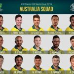 Australia National Cricket Team Schedule, Players, Rankings for World Cup 2019.