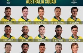 Australia cricket team squad for ICC CWC 2019