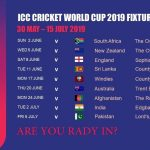 Bangladesh Cricket Team Schedule Of All Matches Of ICC World Cup 2019