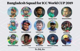 Bangladesh team squad for CWC 2019