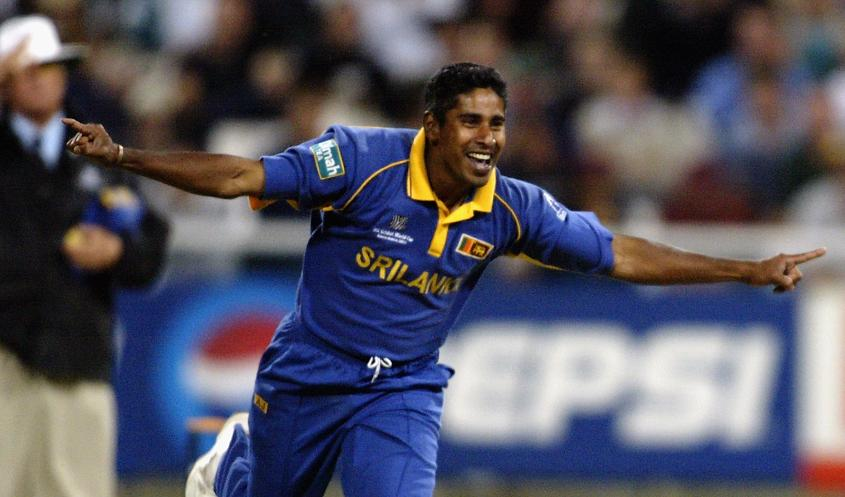 Top 5 Wicket Takers in World Cup - Chaminda Vaas