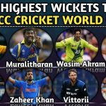 List of Top 5 ICC Cricket World Cup Highest Wicket Takers