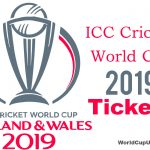 Cricket World Cup 2019 Tickets