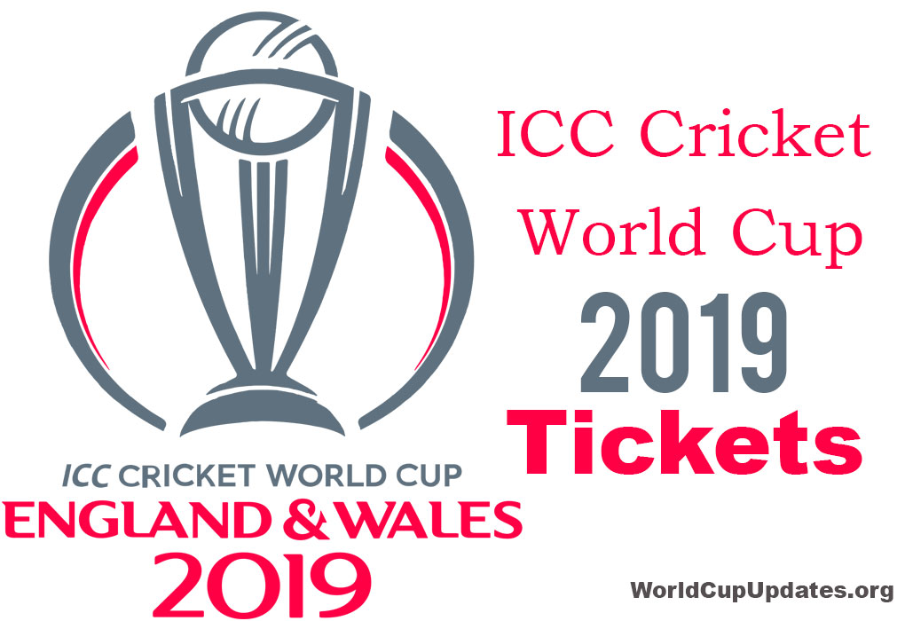 Cricket World Cup 2019 Tickets Icc Cwc 2019