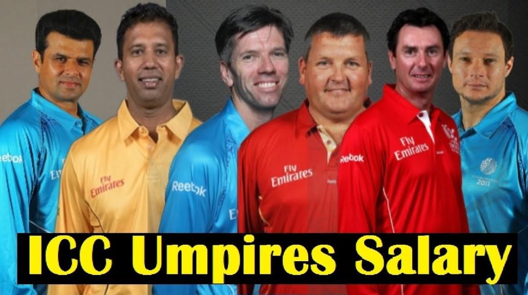 ICC Umpire Salary