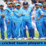 India Cricketers Salaries 2019-2020