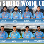 India National Cricket Team for ICC World Cup 2019