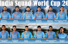 India National Cricket team squad
