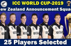 NewZealand National Team Schedule ,Team Squad, ICC Cricket World Cup 2019