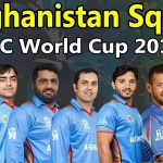 Afghanistan National Cricket Team for ICC Cricket World Cup 2019