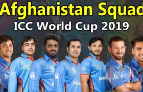 Afghanistan cricket team squad for ICC CWC 2019