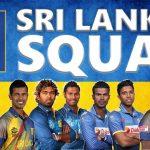Sri Lanka National Cricket Team for ICC Cricket World Cup 2019