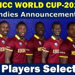 West Indies National Cricket Team for ICC Cricket World Cup 2019