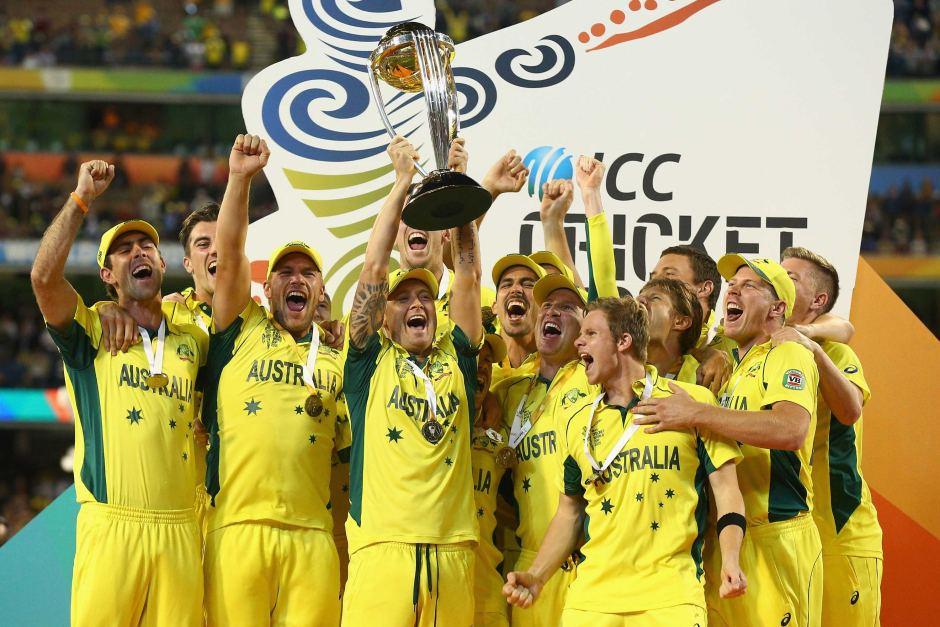 Australia has won most ICC Cricket World cups