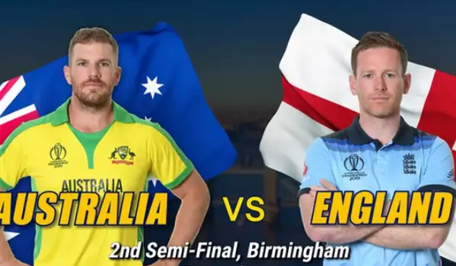 Australia vs England 2nd Semi Final World Cup 2019