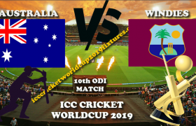 Australia vs West Indies 10th ODI CWC 2019
