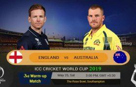 Australia VS England Live Score