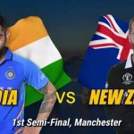 India vs New Zealand Live ICC Cricket World Cup 2019 1st Semi Final Live Streaming World Cup 2019 Crichd, Crictime, Mobilecric, Smartcric HD Streaming CWC