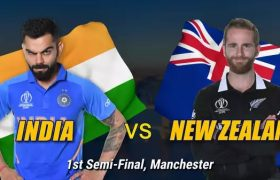 India vs New Zealanad 1st Semi Final Live Streaming