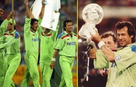 Pakistan became the world champions of world cup 1992