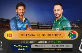 South Africa VS Sri Lanka Live Score