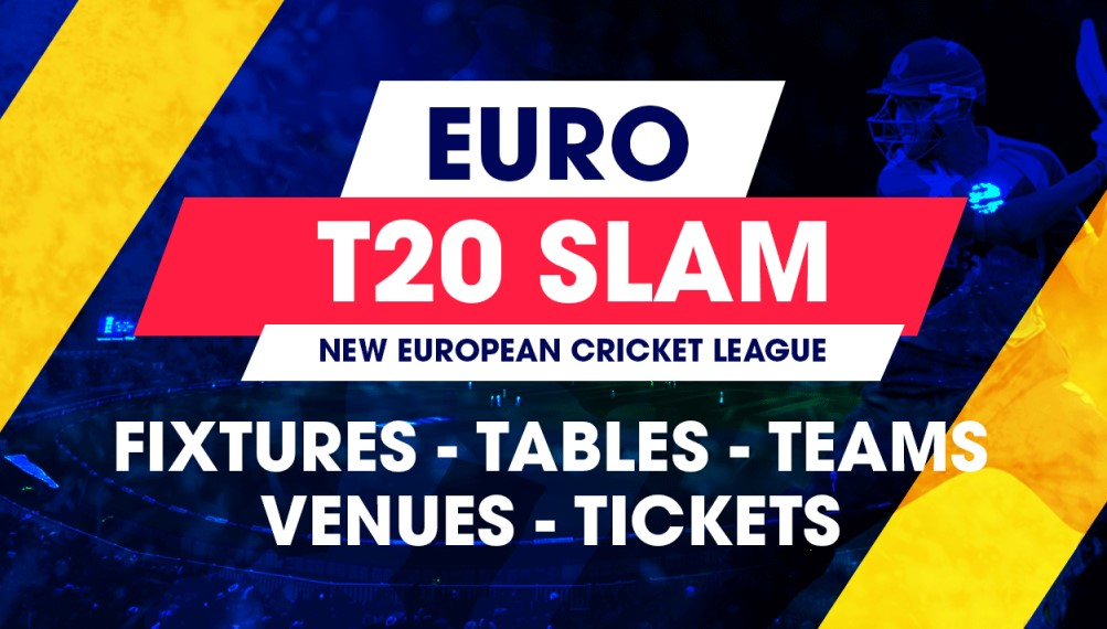Euro T20 Slam Schedule, Fixture, Time Table and Matches