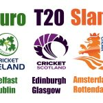 Euro T20 Slam Teams – 1st Edition of Euro T20 Slam will have 6 Teams