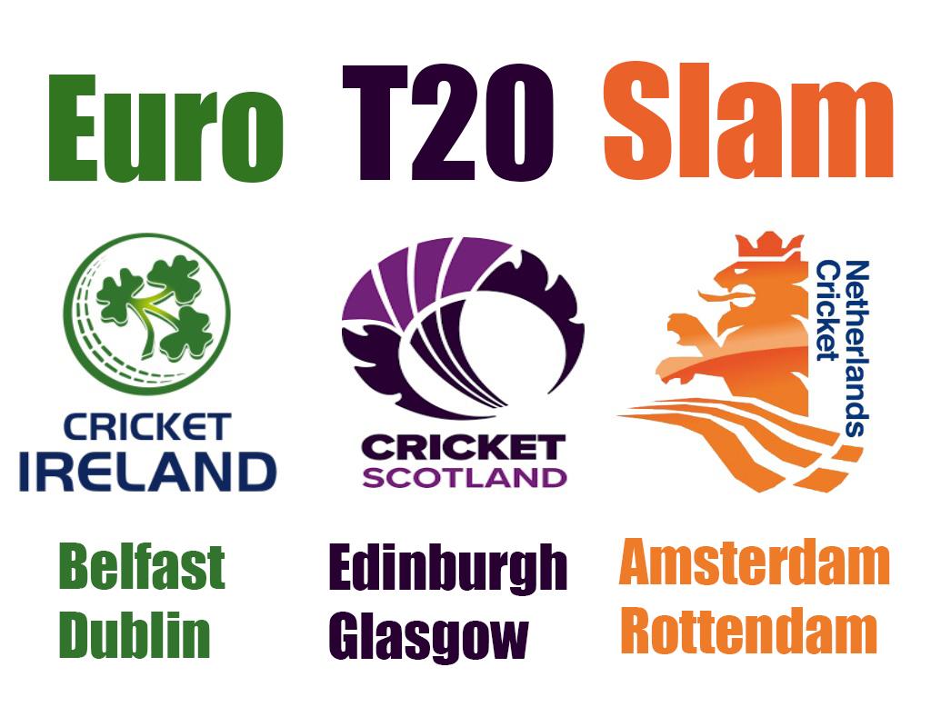 Euro T20 Slam Teams