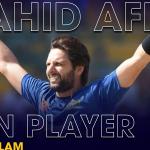 Shahid Afridi Icon Player of Euro T20 Slam