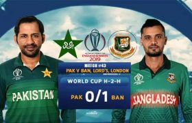 Pakistan Vs Bangladesh Live Streaming CWC 2019