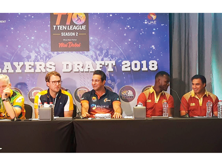 T10 Cricket League 2019 Draft