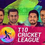 T10 Cricket League 2019 Schedule, Fixture, Time Table and Matches
