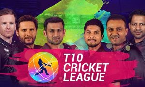 T10 Cricket League 2019 Schedule