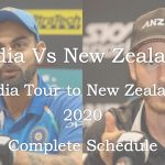 Watch India Vs New Zealand 2020 Live Cricket Match Online - India tour to New Zealand 2020