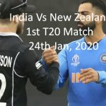 Online Cricket in Progress - India Vs New Zealand 2nd T20- India Tour to New Zealand 2020
