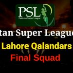 Team Lahore Qalandars Live Streaming for PSL 2020 - Score, Points, Players, Squad PSL 13