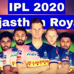 Rajasthan Royals Team for IPL 2020 Squad Players Matches Live Score