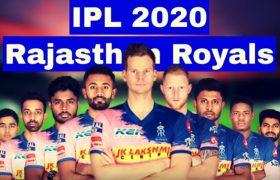 Rajasthan Royals Squad