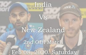 INDIA Vs New Zealand Live 2nd ODI MATCH