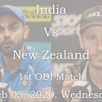 WATCH INDIA Vs New Zealand Live 1st ODI MATCH 2020 - India Tour to New Zealand 2020