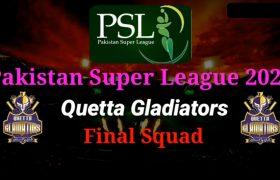Psl 2020 Quetta Gladiators Squad for PSL 5