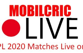 Mobilecric Live IPL 2020 Matches Online Free Streaming