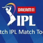 IPL MATCH TODAY - Live IPL 2021 Match Today